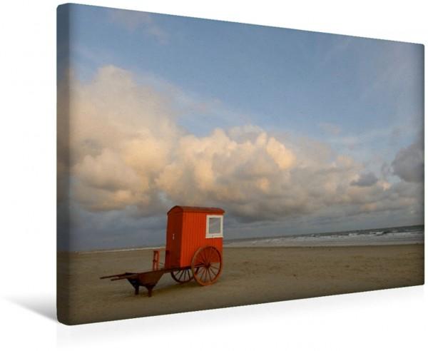 Wandbild Strandimpressionen von der Nordsee