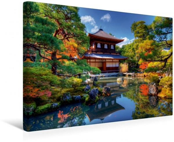 Wandbild Japan Ginkaku-ji Temple in Kyoto Leinwandbild