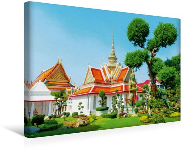 Wandbild Thailand Wat Arun Tempel Nebengebäude in Bangkok