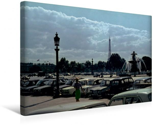 Wandbild Place de la Concorde, Paris - 1966