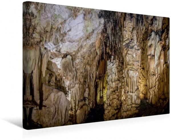 Wandbild Coves d'Artà bei Canyamel im Osten von Mallorca Tropfsteinhöhle Tropfsteinhöhle