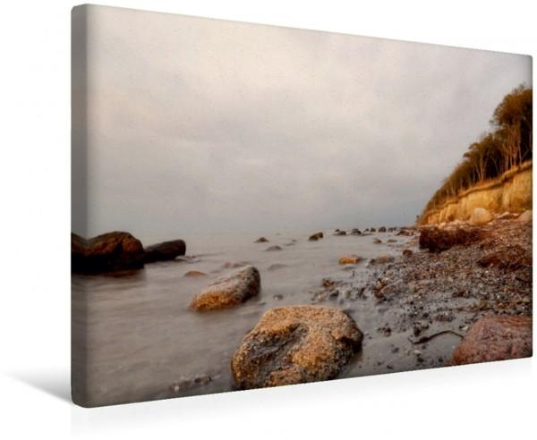 Wandbild Goldene Stimmung am Strand - Insel Poel