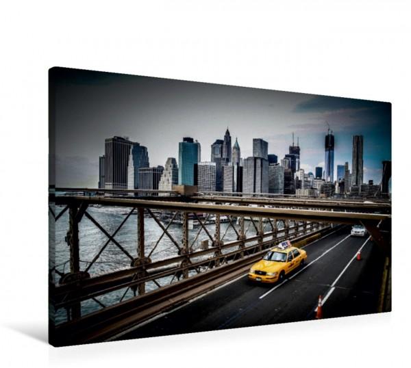 Wandbild New York City Taxi