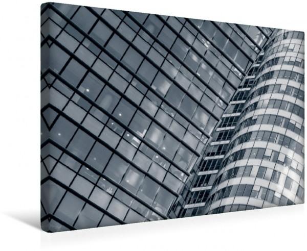 Wandbild Fassaden Mazars Tower und Coeur Défense