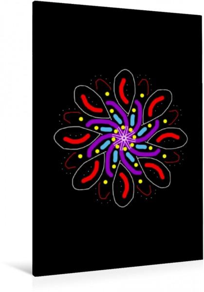 Wandbild Mandalas Lichtfunken