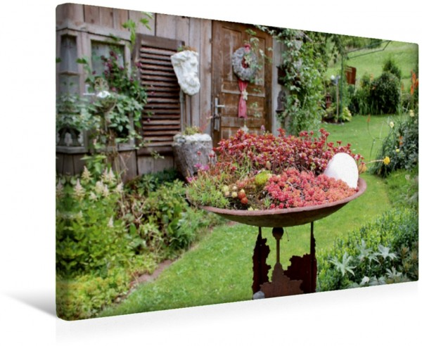 Wandbild Gartenträumerei