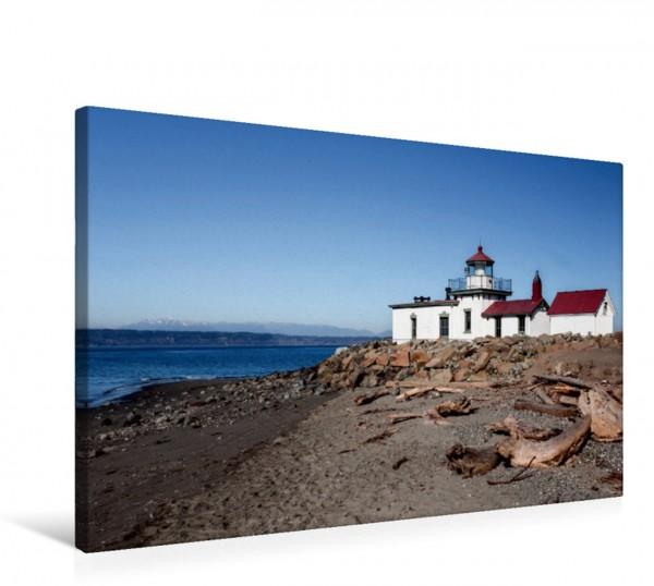 Wandbild West Point Lighthouse