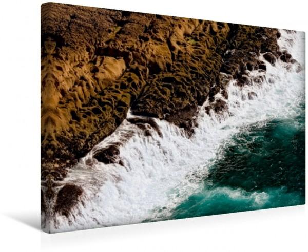 Wandbild Steine, Felsen und Meer