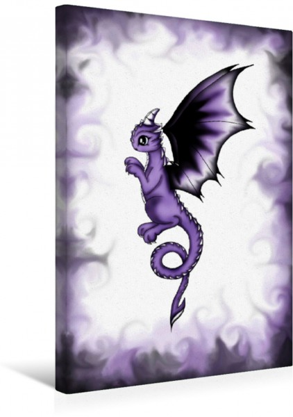 Wandbild kleine Drachen