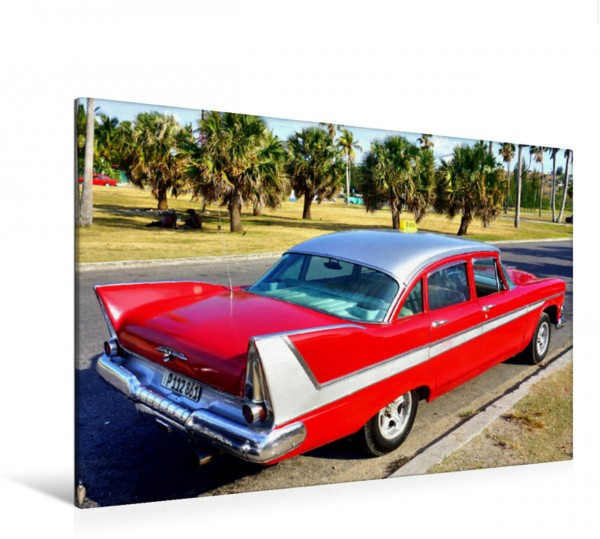 Wandbild Dodge Coronet 1958 - US-Oldtimer in Kuba