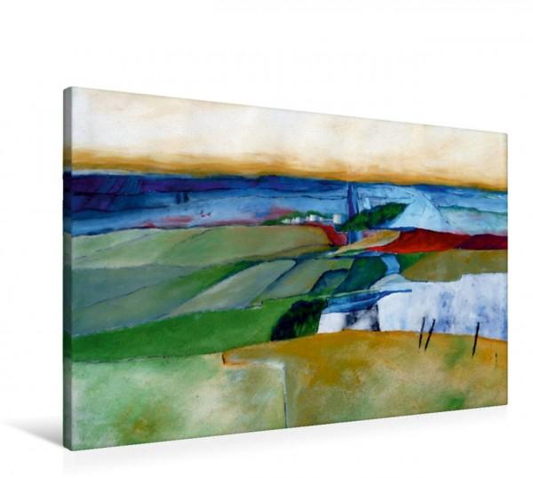 Wandbild Ländliche Landschaft Acrylbild von Feldern Acrylbild von Feldern