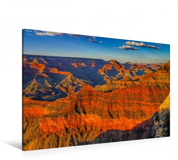 Wandbild Sonnenuntergang am Grand Canyon