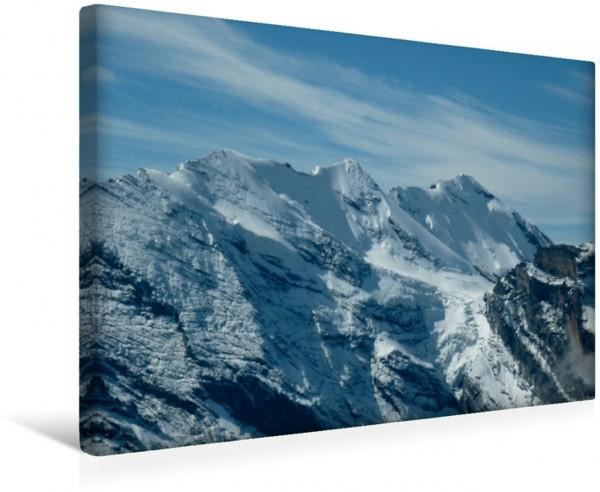 Wandbild Blick vom Schilthorn Schweizer Alpen Schweizer Alpen
