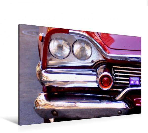 Wandbild Dodge Coronet 1958 - US-Oldtimer mit Raketenhörnern