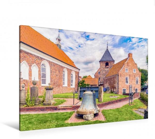 Wandbild Die Kirche von Greetsiel