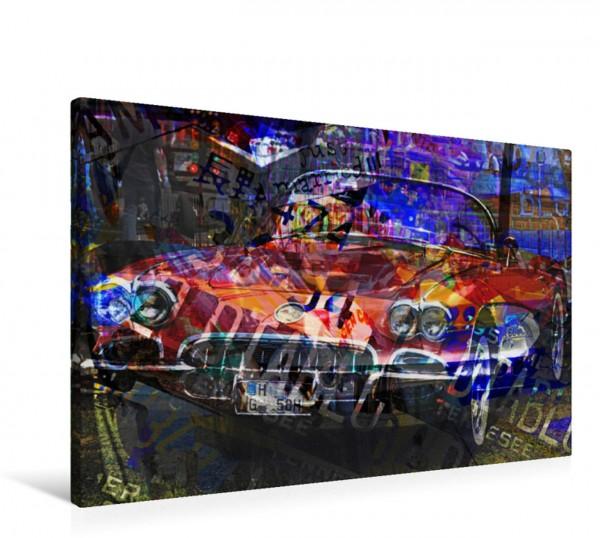Wandbild Corvette