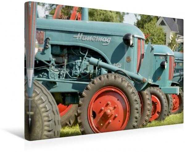 Wandbild Oldtimer Traktor Hanomag