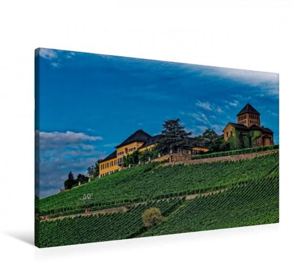 Wandbild Schloss Johannisberg mit Basilika