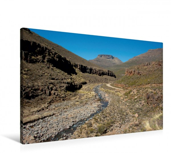Wandbild Landschaft im Mokhotlong Distrikt Lesotho Lesotho