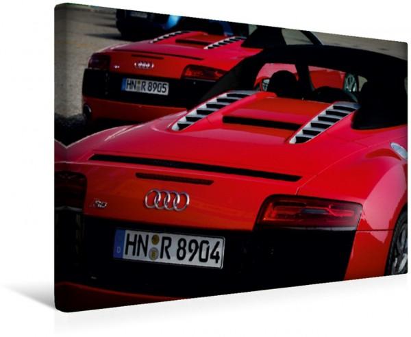 Wandbild Audi R8 V10 Spyder